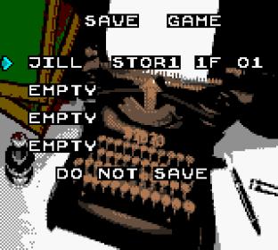 Resident Evil GBC Prototype 23