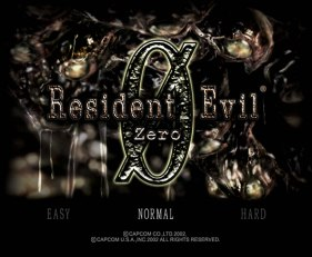 Resident Evil Zero GameCube 01
