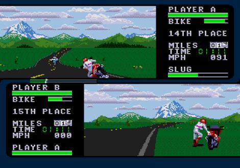 Road Rash 2 Megadrive 67