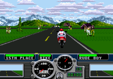 Road Rash Megadrive 11