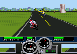 Road Rash Megadrive 45