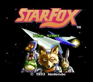Star Fox SNES 01