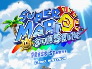 Super Mario Sunshine Gamecube 01