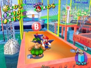 Super Mario Sunshine Gamecube 75