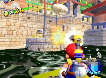 Super Mario Sunshine, GameCube – The King of Grabs