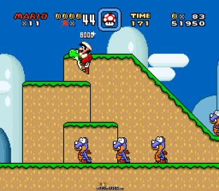 Super Mario World SNES 009