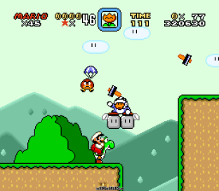Super Mario World SNES 053
