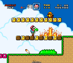Super Mario World SNES 088