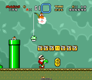 Super Mario World SNES 100