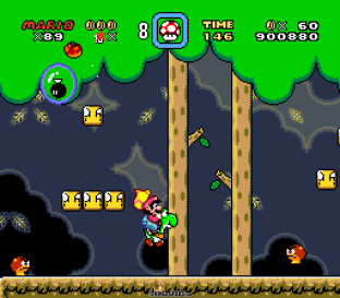 Super Mario World SNES 108