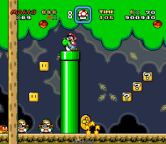 Super Mario World SNES 109