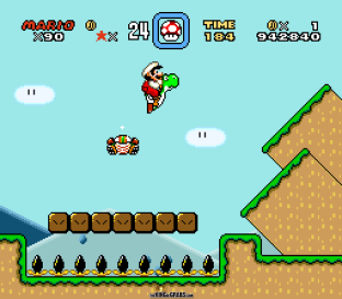 Super Mario World SNES 111