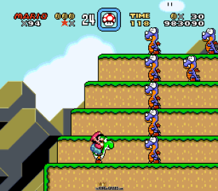 Super Mario World SNES 119