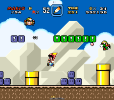 Super Mario World SNES 121