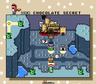 Super Mario World SNES 122