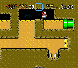 Super Mario World SNES 141