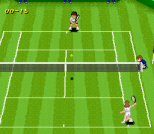 Super Tennis SNES 07