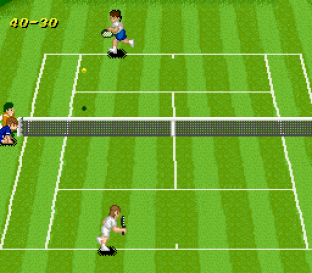 Super Tennis SNES 09