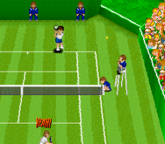 Super Tennis SNES 10