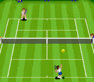 Super Tennis SNES 12