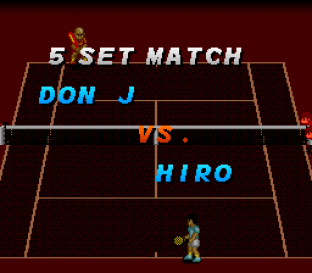 Super Tennis SNES 20