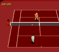 Super Tennis SNES 21