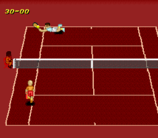 Super Tennis SNES 23