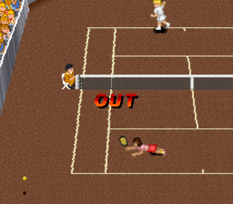 Super Tennis SNES 48