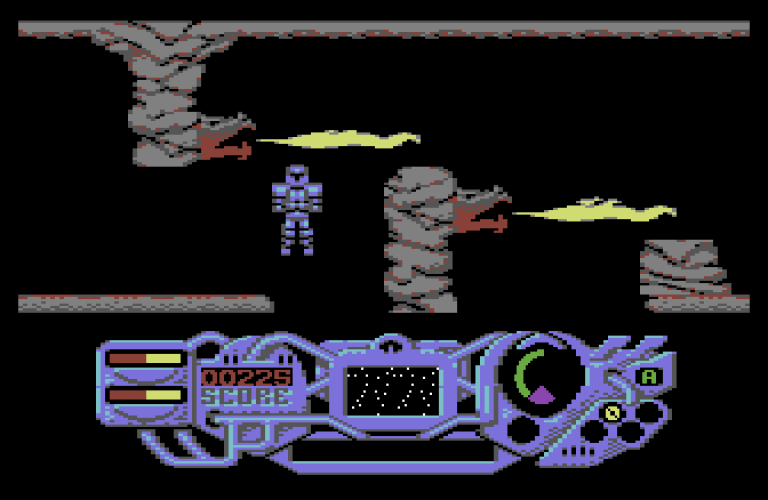 The Sacred Armour of Antiriad, Commodore 64 – The King of Grabs