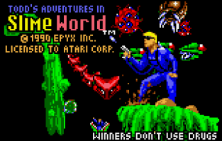 Todd's Adventures in Slime World Atari Lynx 01