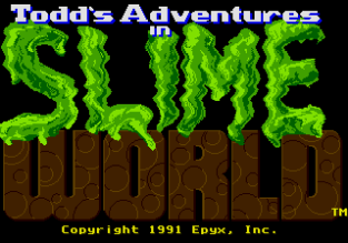 Todd's Adventures in Slime World Sega Megadrive 01