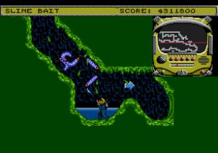 Todd's Adventures in Slime World Sega Megadrive 12