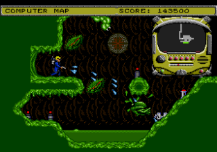 Todd's Adventures in Slime World Sega Megadrive 23