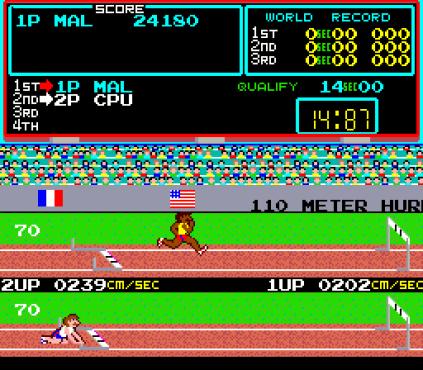 Track & Field Arcade 20