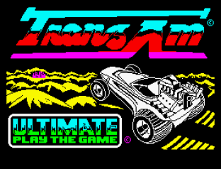 Tranz Am ZX Spectrum 01