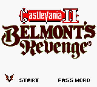 Castlevania 2 - Belmont's Revenge GBC 01