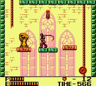 Castlevania 2 - Belmont's Revenge GBC 86