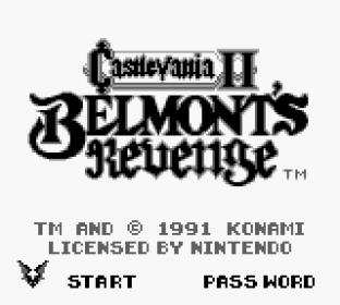 Castlevania II - Belmont's Revenge Game Boy 01
