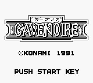 Cave Noire Game Boy 01
