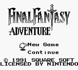 Final Fantasy Adventure Game Boy 001