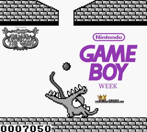 Game Boy Week Pinball Revenge of the Gator