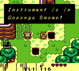 Legend of Zelda Link's Awakening DX Game Boy Color 097