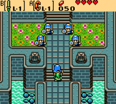 Legend of Zelda - Oracle of Ages GBC 55