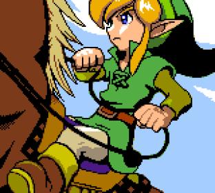 Legend of Zelda - Oracle of Seasons GBC 01