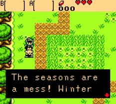 Legend of Zelda - Oracle of Seasons GBC 11
