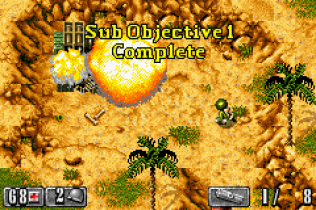 Medal of Honor - Infiltrator GBA 10