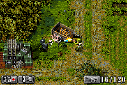 Medal of Honor - Infiltrator GBA 78