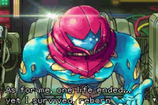 Metroid Fusion GBA 12