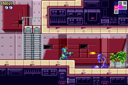 Metroid Fusion GBA 20