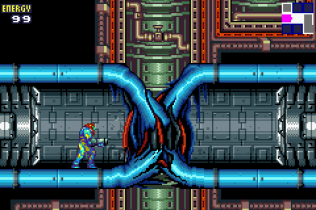 Metroid Fusion GBA 21